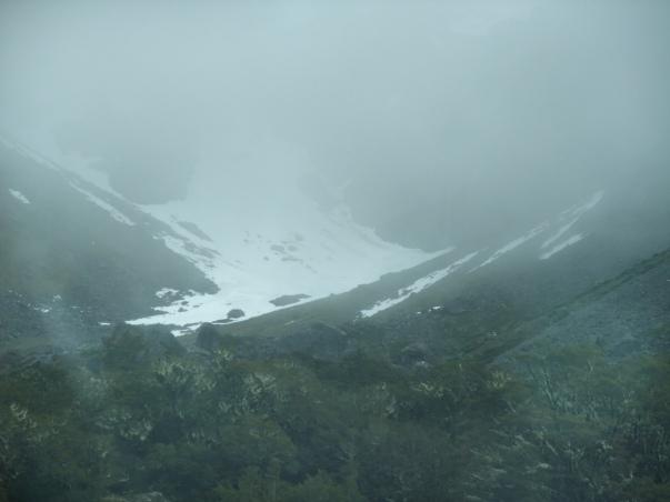 Mountainous Road to Milford Sound