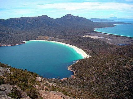 Wineglass Bay Photo by Bjorn Christian Torrissen