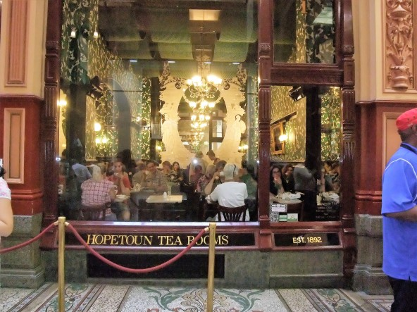 The very refined Hopetoun Tea Rooms