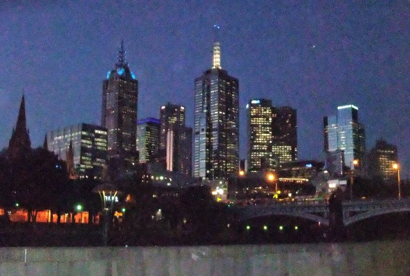 City Skyline from Southbank