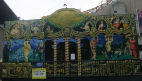 The Famous Spiegeltent-cabaret venue