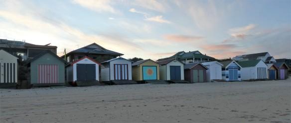 Edithvale beach boxes