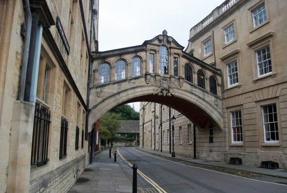 The Bridge of Sighs-Oxford