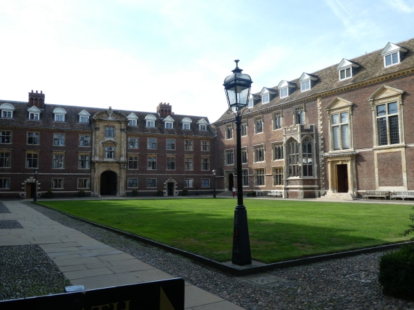 St. Catharine's quadrangle and gardens
