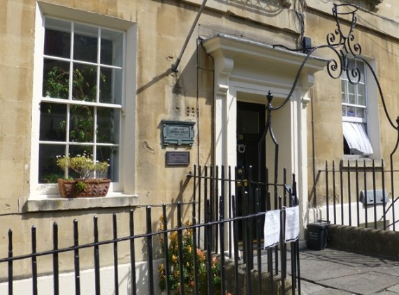 Atthur Philiip's House at 19 Bennett Street - Image Visit Bath Website