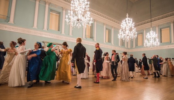 The Regency Ball at the Assembly Rooms-image from the blog:A Damsel in This Dress